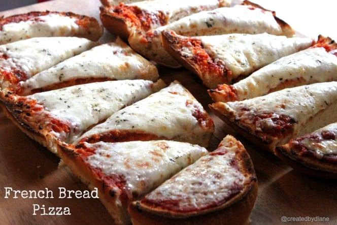 French Bread Pizza @createdbydiane
