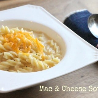Mac and Cheese Soup @createdbydiane