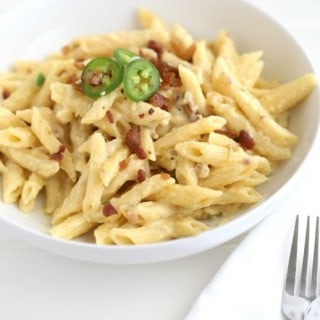 Jalapeno Bacon Mac and Cheese