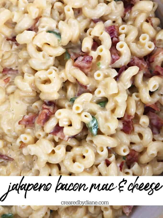 jalapeno bacon mac and cheese recipe