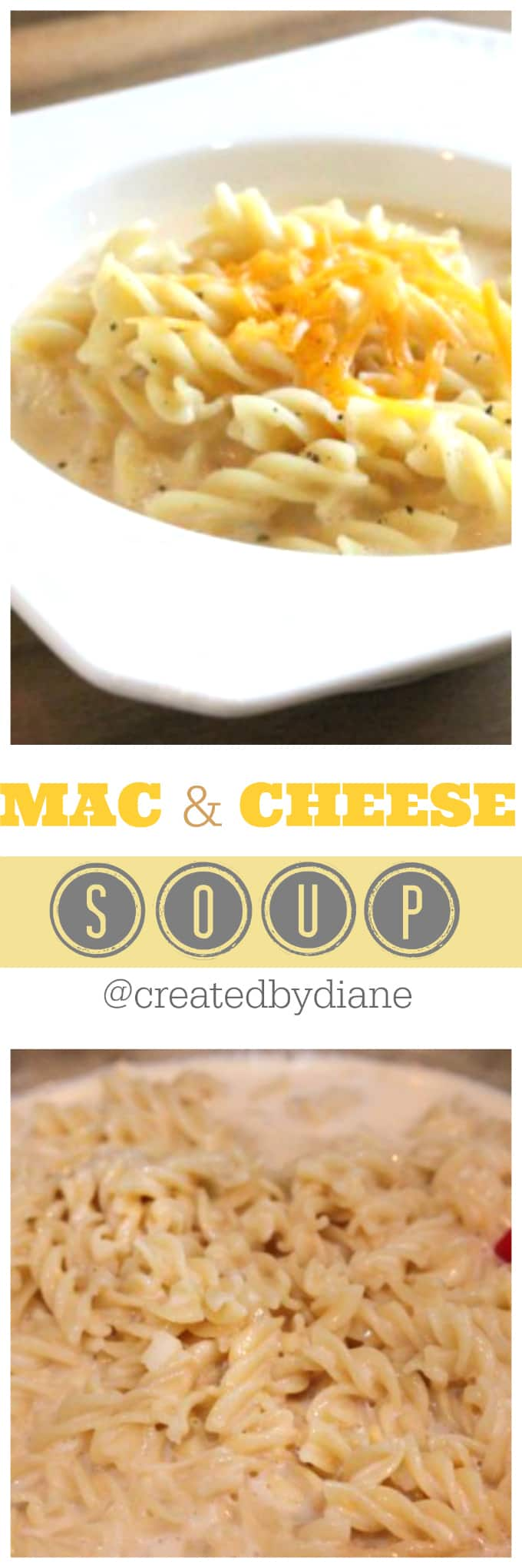 mac and cheese soup recipe @createdbydiane