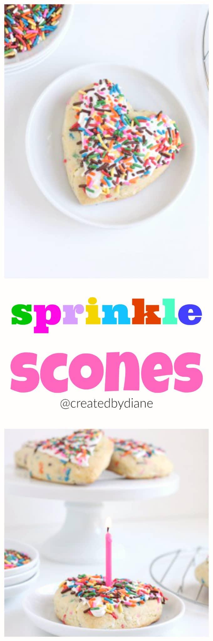 sprinkle scones @createdbydiane
