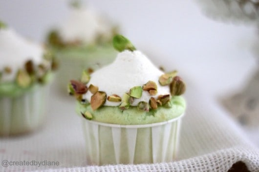 Pistachio Cupcakes created by Diane