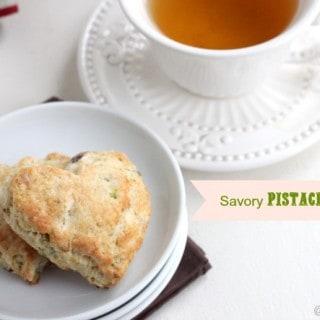 Savory Pistachio Scones