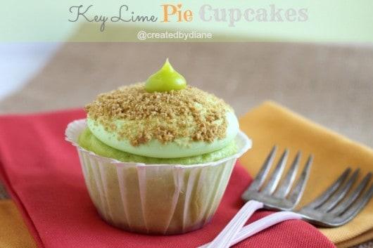 Key Lime Pie Cupcakes @createdbydiane.jpg