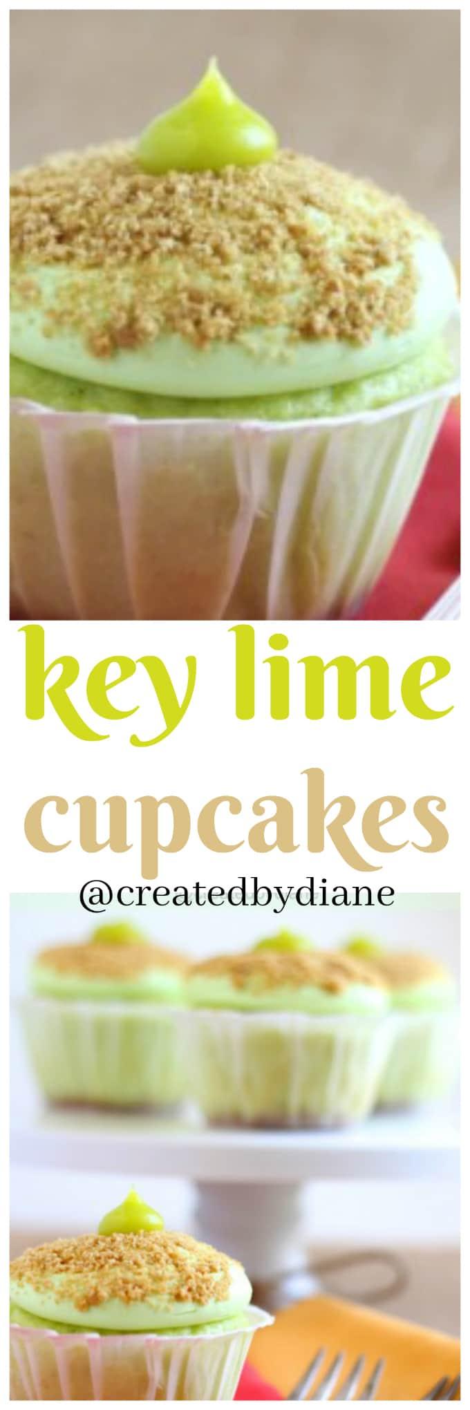 key lime cupcakes @createdbydiane