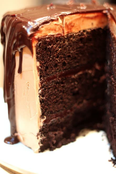 Dark Chocolate Fudge Cake .jpg