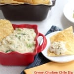 Green Chicken Chile Dip from @createdbydiane