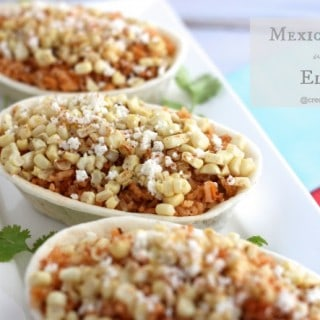 Mexican Rice with Elote