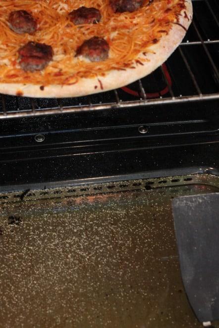 cornmeal in oven
