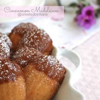 Cinnamon Madeleines