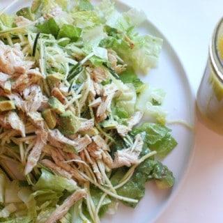 Lemon Saffron Salad Dressing