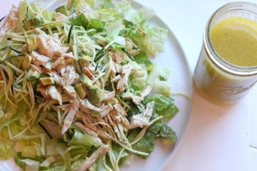 Lemon Saffron Salad Dressing @createdbydiane.jpg