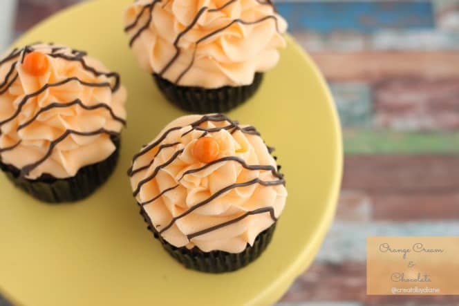 Orange Cream Frosting and Chocolate Cupcakes with Orange @ ...