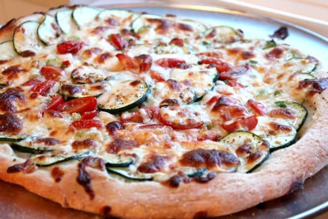 Zucchini Pizza from @createdbydiane