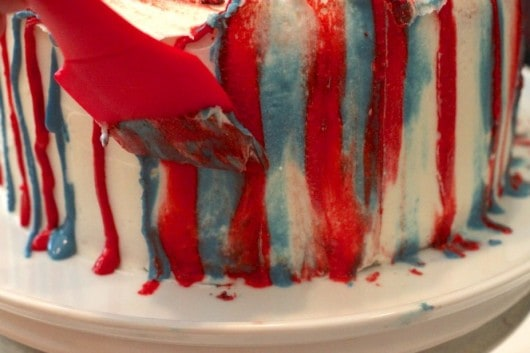 easiest 4th of July Cake EVER! @createdbydiane