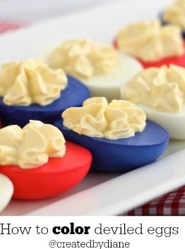 how to color deviled eggs @createdbydiane