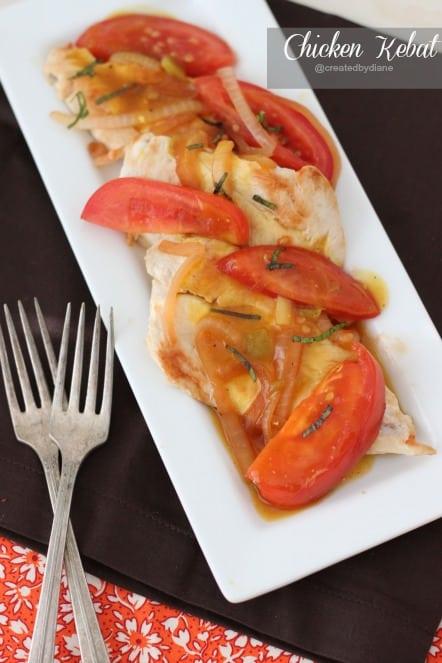 Chicken Kebat @createdbydiane