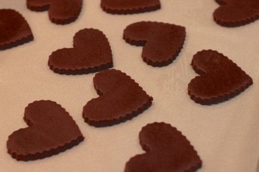 Chocolate & lavender cookies @createdbydiane