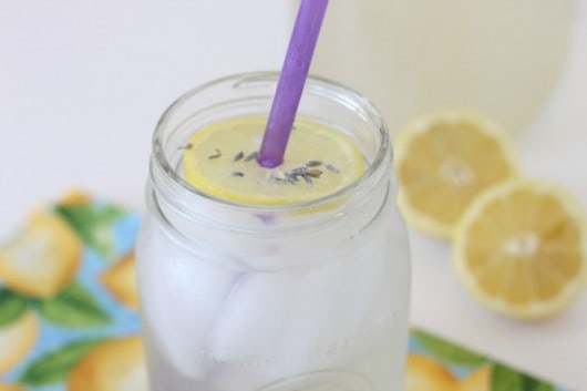 Lavender Lemonade Recipe @createdbydiane