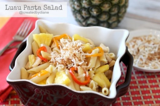 Luau Pasta Salad @createdbydiane