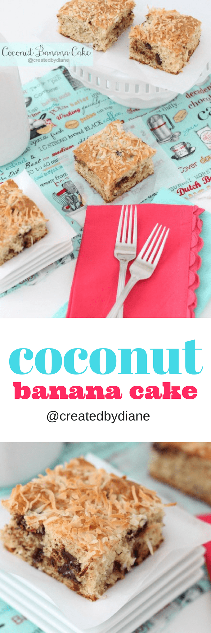 coconut banana cake recipe