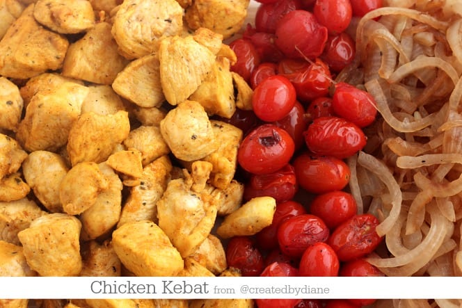 chicken kebat from @createdbydiane