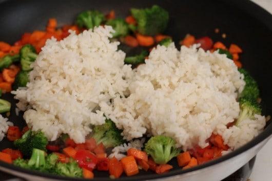 shrimp fried rice @createdbydiane