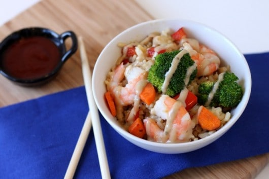 shrimp fried rice @createdbydiane