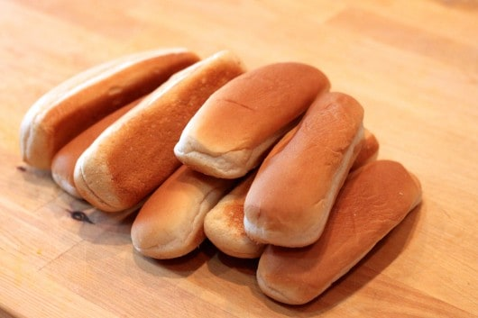 What to do with extra hot dog buns