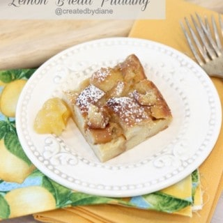 Lemon Bread Pudding