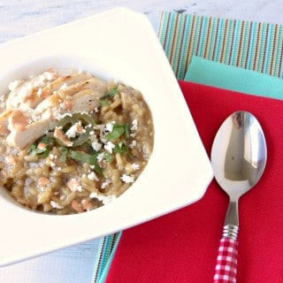 Verde Chicken Risotto with How to Video