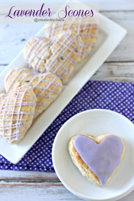 Lavender Scones @createdbydiane