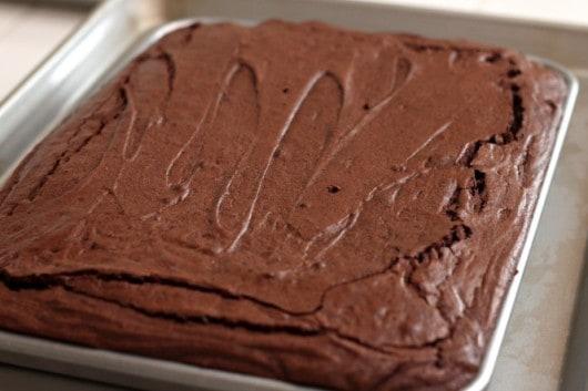 homemade brownie recipe @createdbydiane