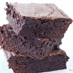 Fudgy Brownie Recipe @createdbydiane