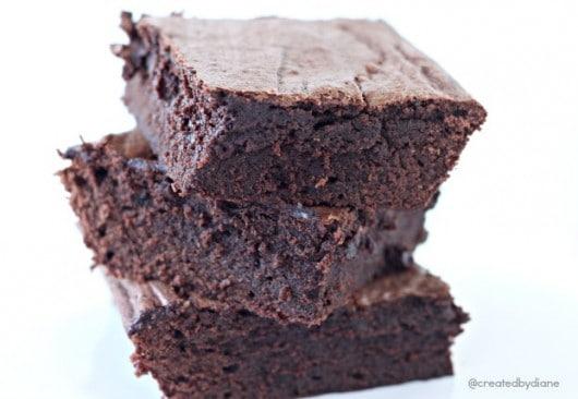 Fudgy Brownie Recipe @createdbydiane