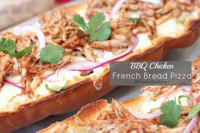 BBQ CHicken Frech Bread Pizza