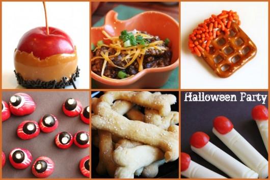Halloween-Party-Menu