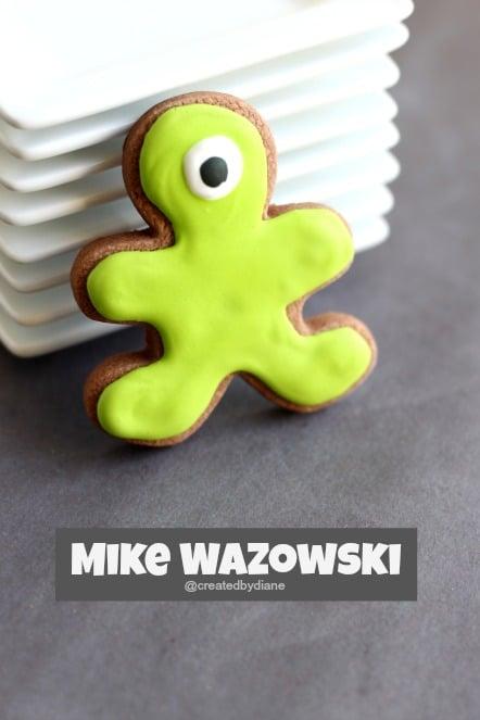 Mike Wazowski Cookie @createdbydiane