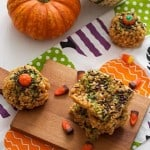 Pumpkin Rice Krispie Treats -500