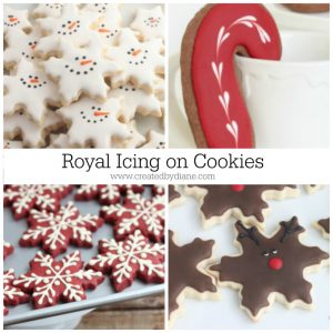 Royal Icing on Cookies www.createdbydiane.com