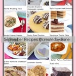 September 2013 Recipes @createdydiane