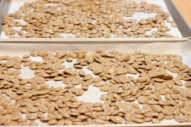 how to make delicious pumpkin seeds at home @createdbydiane