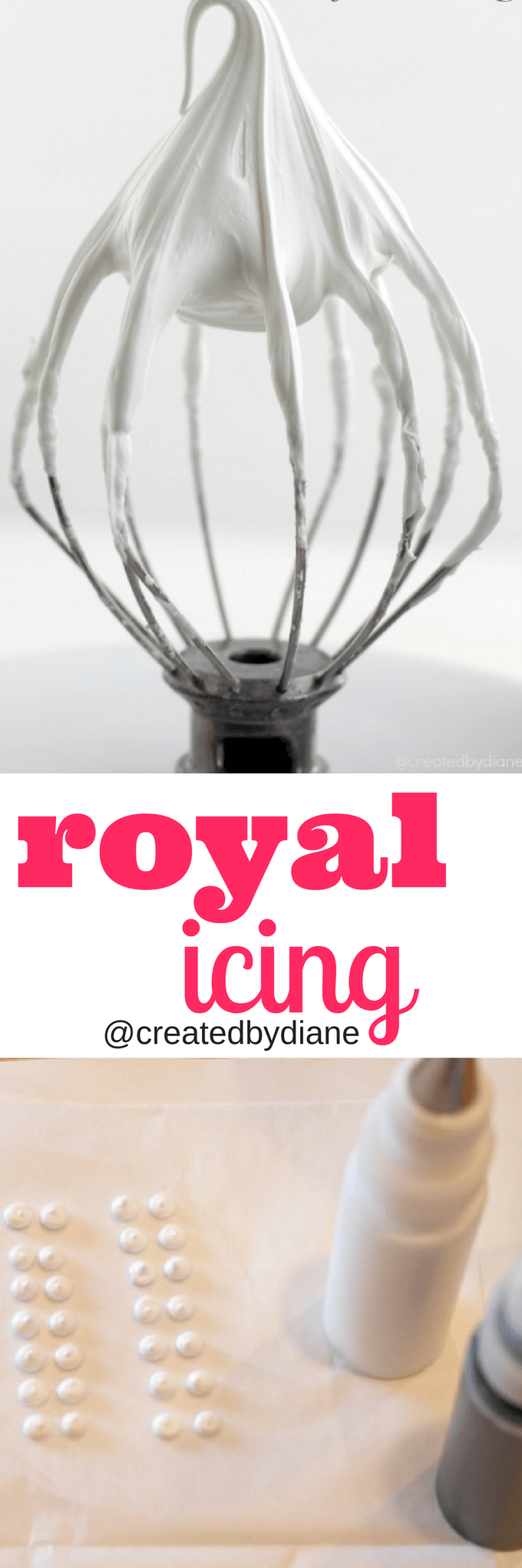 royal icing, great for cookies, cupcake toppers, decorating desserts @createdbydiane