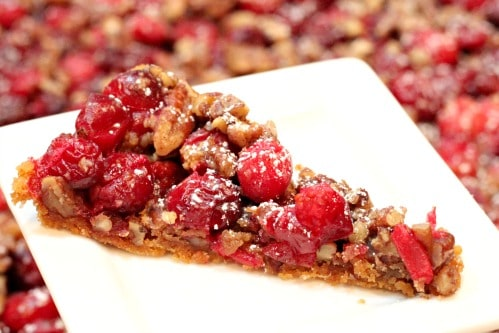 cranberry cheesecake bars @createdbydiane