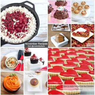 November Recipes from Created by Diane