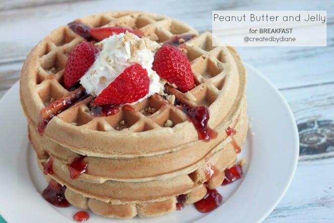 Peanut Butter and Jelly for Breakfast @createdbydiane.jpg