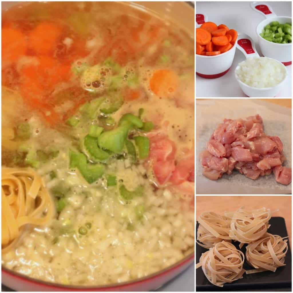 One Pot Chicken Soup @createdbydiane