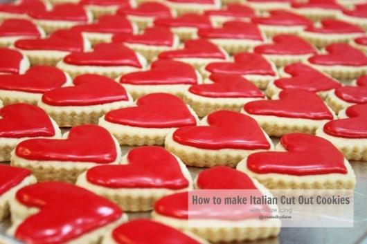 Italian Cookie Recipe with Glaze Icing @createdbydiane