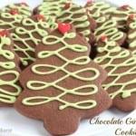 Chocolate-Gingerbread-Christmas-Tree-Cookies-@createdbydiane-530x353